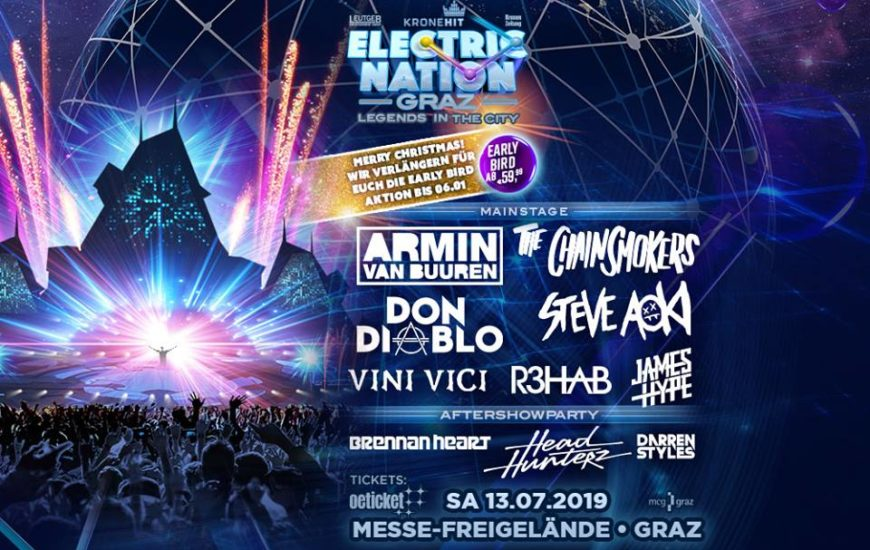 Electric Nation Graz Line Up