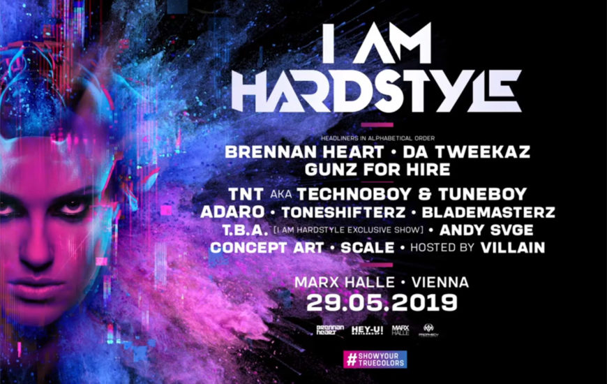 I am Hardstyle Line Up