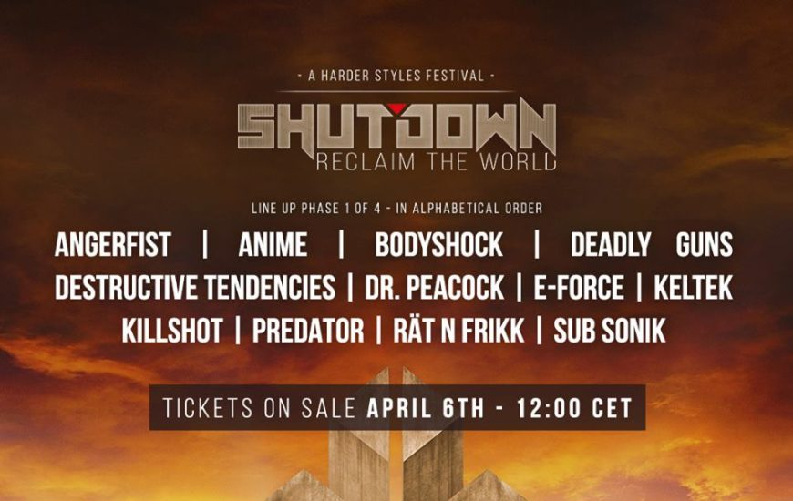Shutdown Festival Line Up Phase 1