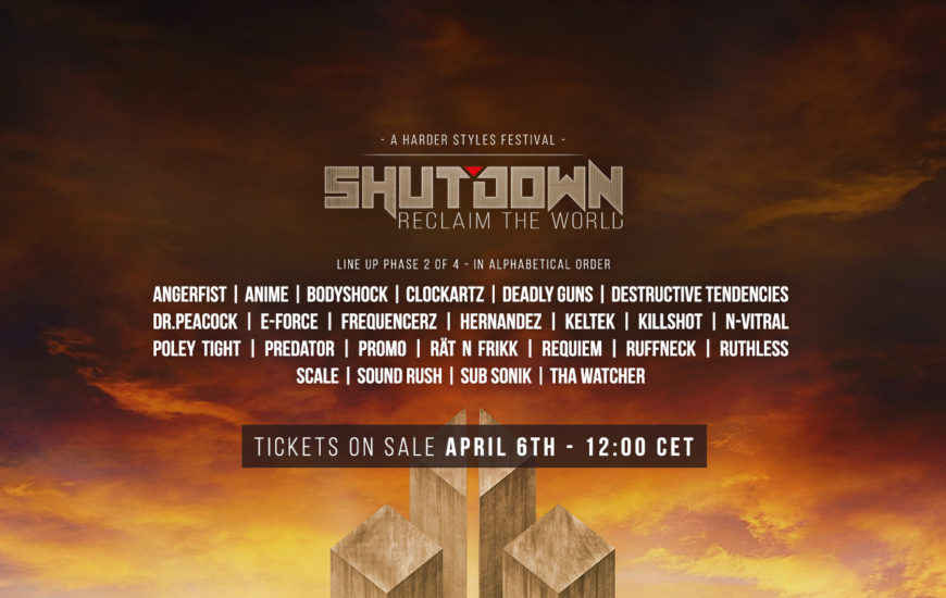 Shutdown Festival - Line Up Phase 2